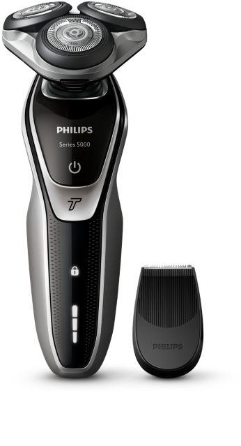 Afeitadora eléctrica en seco, sistema de cuchillas MultiPrecision