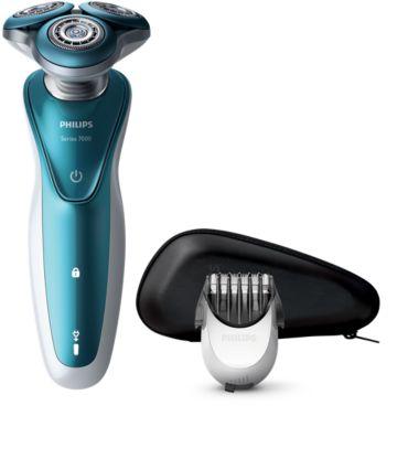 Shaver series 7000 Rasoir électrique rasage à sec ou sous l