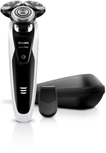 Shaver series 9000 Rasoir électrique rasage à sec ou sous l