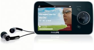 Philips GoGEAR MP3 video player Opus SA1OPS08K/97