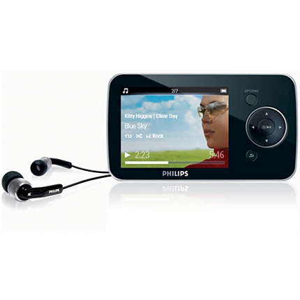 philips raga mp3 player manual