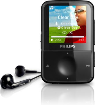 Philips GoGEAR Reproductor de video y MP3 ViBE SA1VBE08K/55