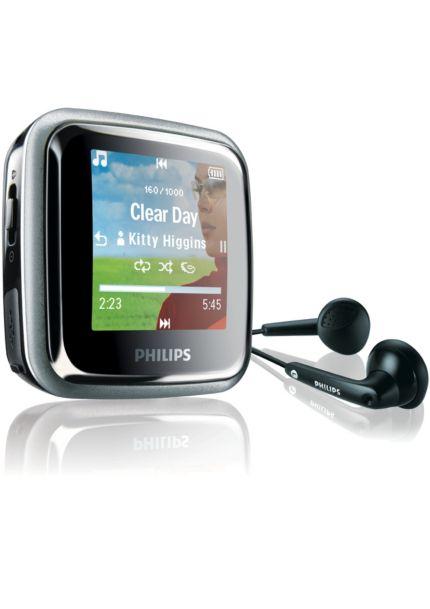 Philips GoGear เครื่องเล่นเพลง MP3 ระบบดิจิตอล Spark SA2945/97