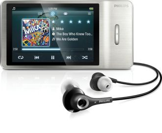 Philips GoGEAR MP4-spelare Muse SA2MUS16S/02