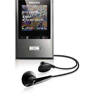 buy the philips gogear mp4 player sa2vbe04k 94 mp4 player. Black Bedroom Furniture Sets. Home Design Ideas
