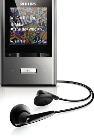Philips GoGEAR MP3 video player ViBE SA2VBE08K/17