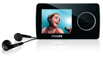 Philips GoGEAR Reproductor de vídeo portátil 8 GB SA3285/02