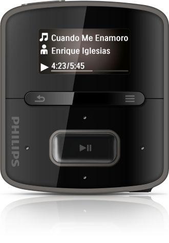 Philips GoGEAR MP3 player RaGa SA3RGA02K/97