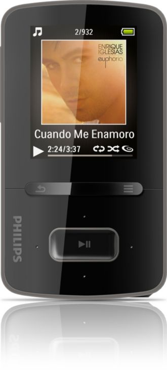 Philips GoGEAR MP3 video player ViBE SA3VBE04K/37