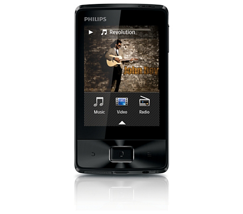 philips gogear vibe 8gb manual