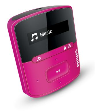 "Philips GoGEAR MP3 grotuvas ""Raga"" SA4RGA02PN/12"