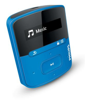 Philips GoGEAR MP3 player Raga SA4RGA04BF/37