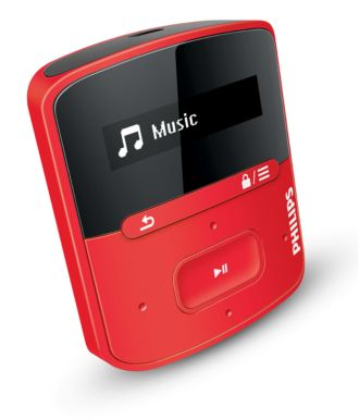 Philips GoGEAR MP3 player Raga SA4RGA04RF/97