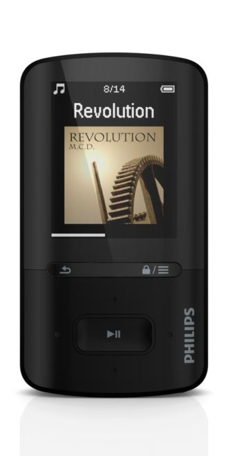 Philips GoGEAR MP3 video player ViBE SA4VBE04KF/37