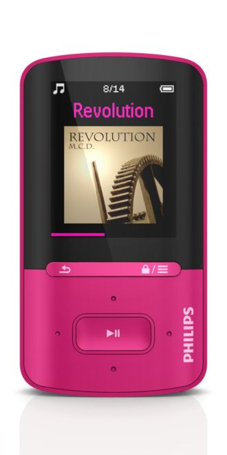 Philips GoGEAR MP4 player Vibe SA4VBE04PN/97