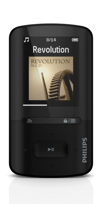 Philips GoGEAR MP3 video player ViBE SA4VBE08KF/37