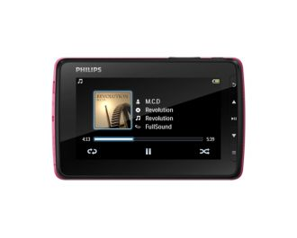 Philips GoGEAR MP4 player Video 4.3 SA4VD404PN/97