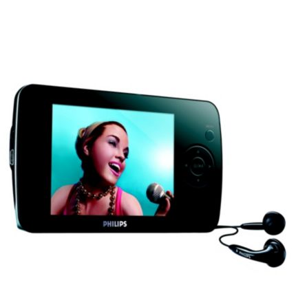 Philips GoGear Flash audio video player 8GB* SA6186/37