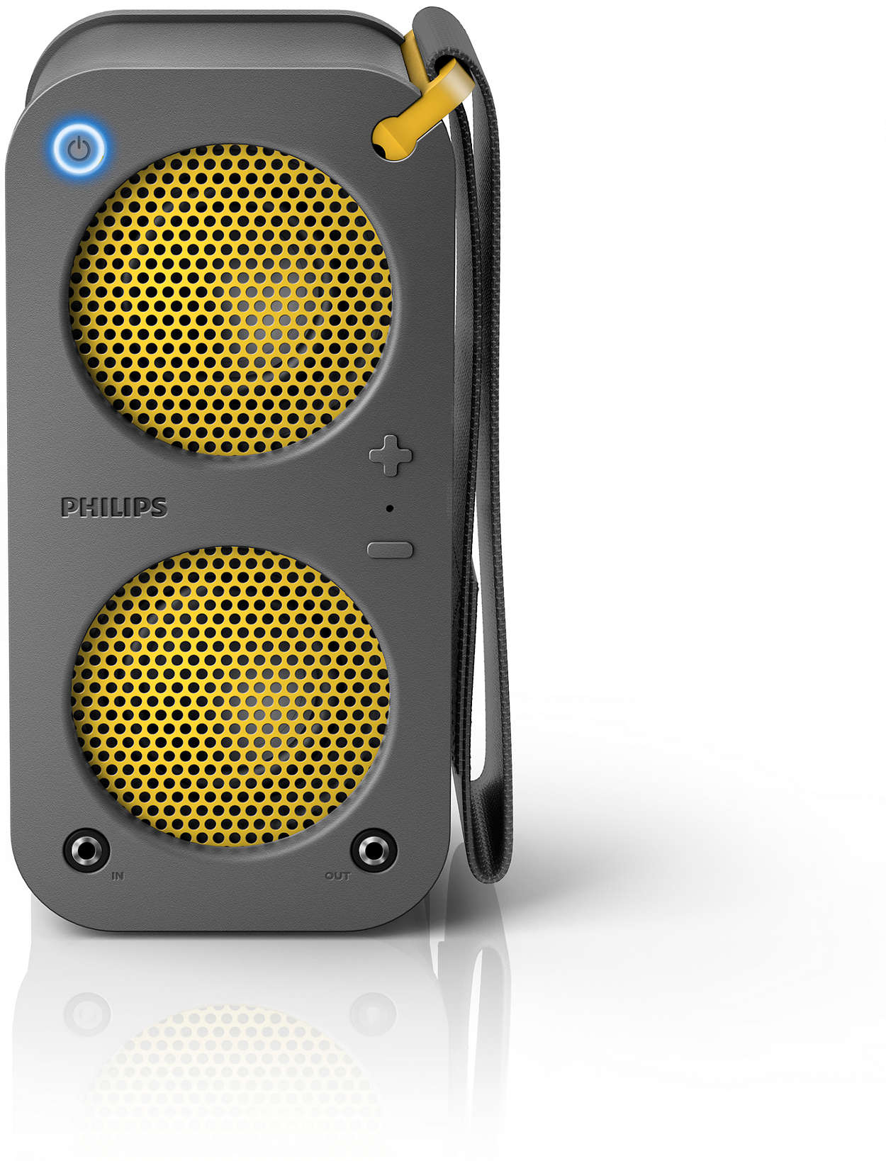 Great sound · Ruggedized · Chainable
