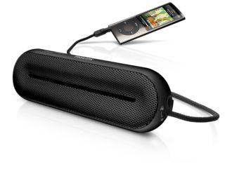 Philips  MP3 portable speaker Universal 3.5mm SBA1600BLK/27