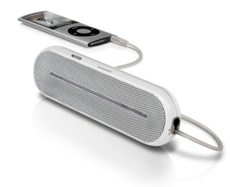 Philips  Enceinte portable MP3 3,5 mm universelle SBA1600/00