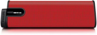 Philips  Portable speaker Red SBA1610RED/00