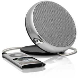 Philips  Enceinte portable MP3 3,5 mm universelle SBA1700/00