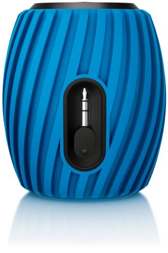 Philips SoundShooter Portable speaker Blue SBA3011BLU/00