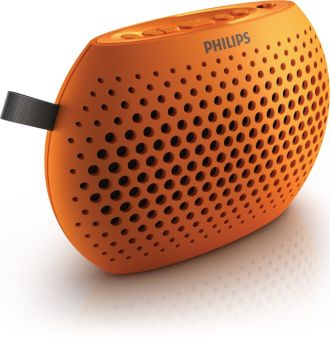 Philips  Portable speaker Orange SBM100ORG/00