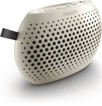 Philips  Portable speaker White SBM100WHI/00