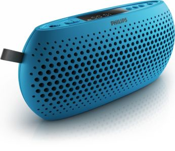 Blue USB Portable speaker