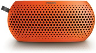 Philips  Portable speaker Orange SBM130ORG/00