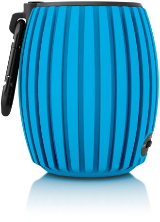 Philips SoundShooter wireless portable speaker Bluetooth SBT30BLU/00