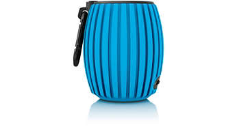 Bluetooth Blue wireless portable speaker