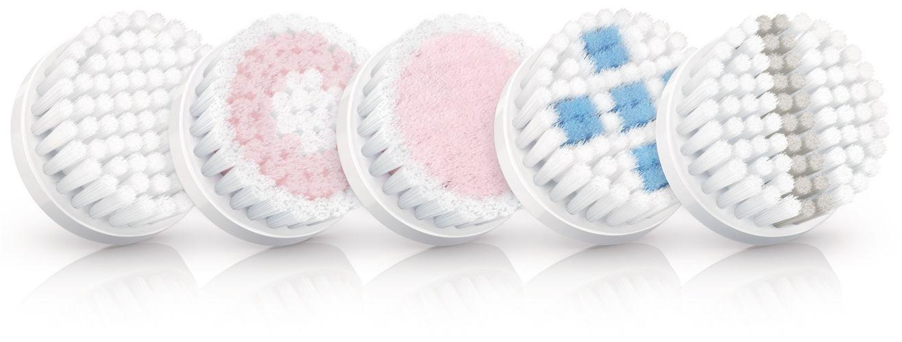 Tête de brosse avec effet de nettoyage en profondeur des pores