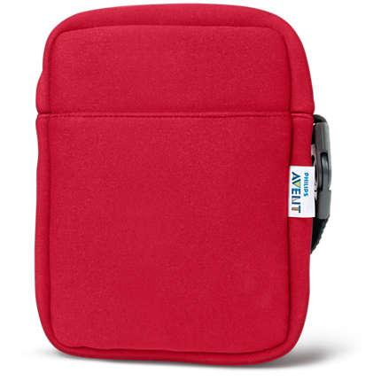 Philips  Термосумка из неопрена Красная SCD150/50