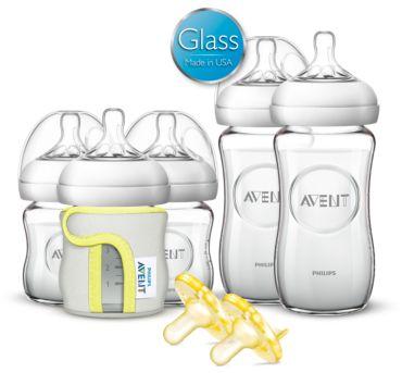 Philips Avent Newborn Glass Starter Set