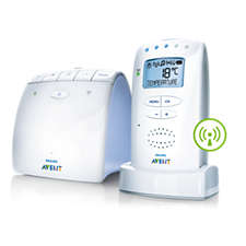 Philips scd510 avent dect baby monitor monitoring system manuals.