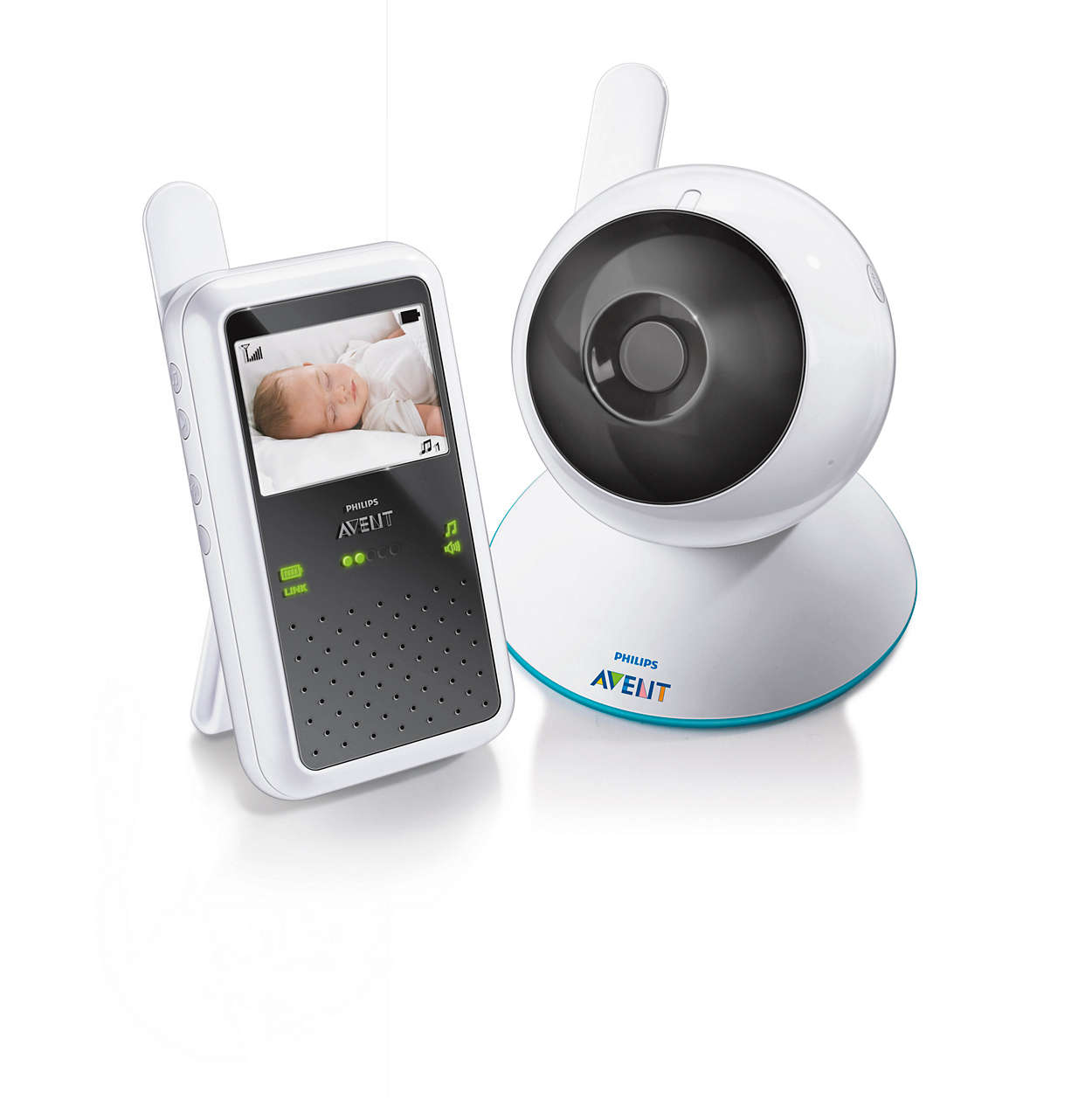 digital video baby monitor scd600 10 avent. Black Bedroom Furniture Sets. Home Design Ideas