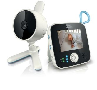 Philips  Digital Video Baby Monitor Compatible with 4 camera's SCD610/01