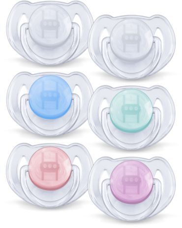 6-18m Orthodontic BPA-Free Classic Pacifiers