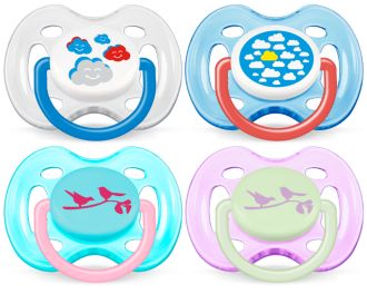 Philips  Classic Pacifiers 0-6m SCF172/18
