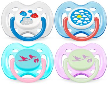 0-6m Orthodontic BPA-Free Classic Pacifiers
