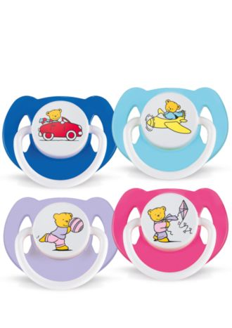 Philips  Bear Pacifiers 6-18m SCF174/22