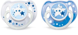 Philips  Night Time Pacifiers 6-18m SCF176/22