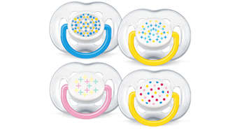 6-18m Contemporary Freeflow Pacifier