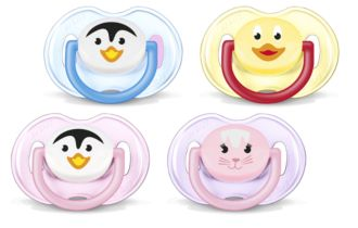 Philips  Classic Pacifiers 0-6m SCF182/23