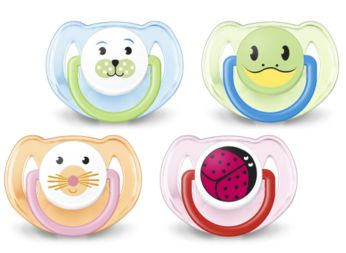 6-18m Orthodontic & BPA-Free Classic Pacifiers