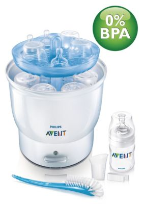 Reviews Of The Electric Steam Steriliser Scf274 23 Avent