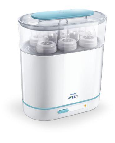 Philips Avent Elektrischer 3-in-1-Dampfsterilisator